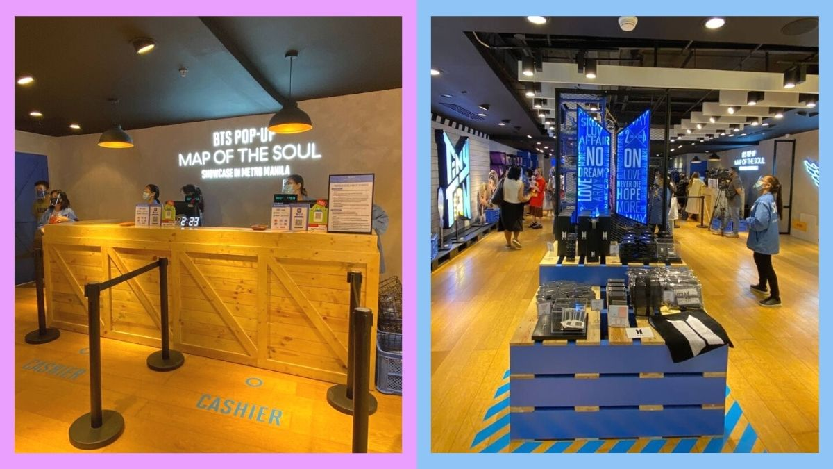 Here's Your First Look At The BTS Pop-Up Store In Manila!
