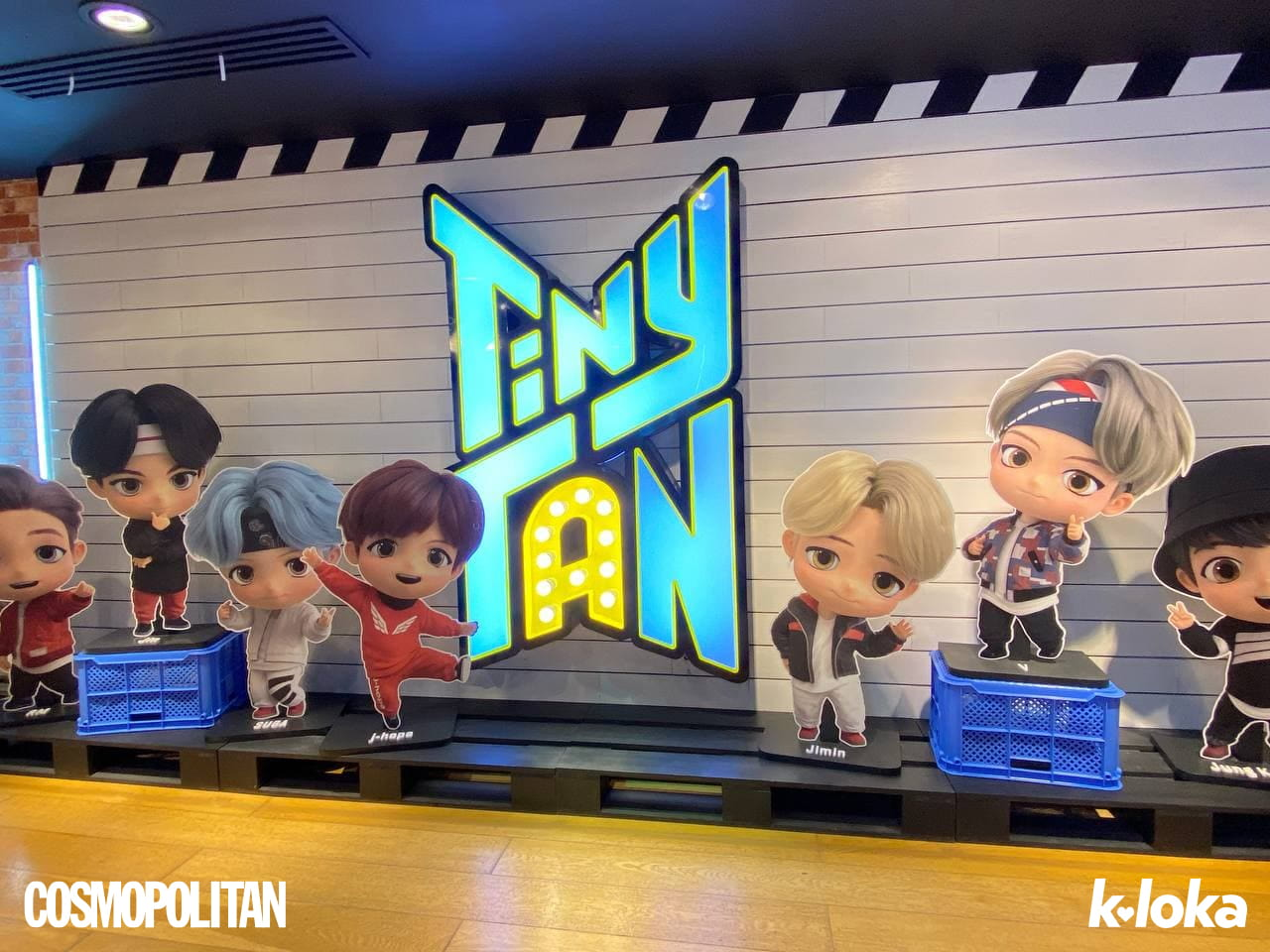 BTS POP-UP: MAP OF THE SOUL Showcase in Metro Manila: Merch