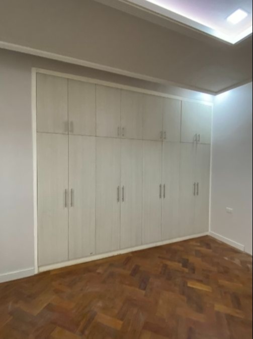space makeover - before photo of closet