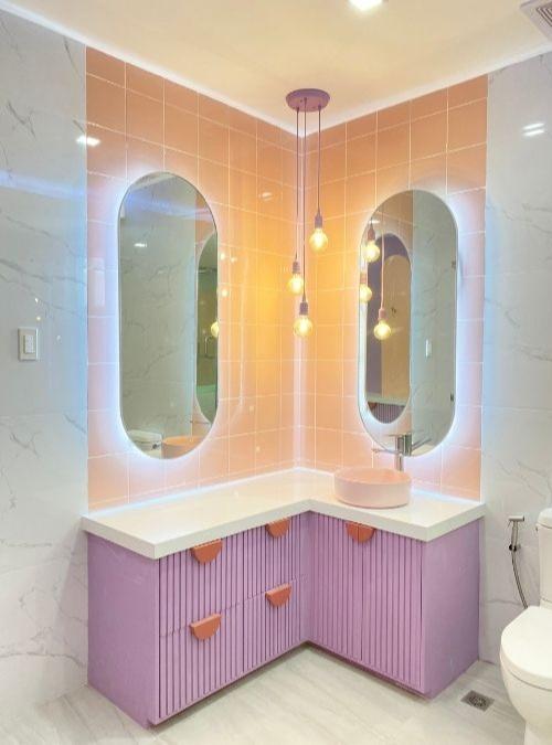 space makeover - neotenic design in bathroom sink