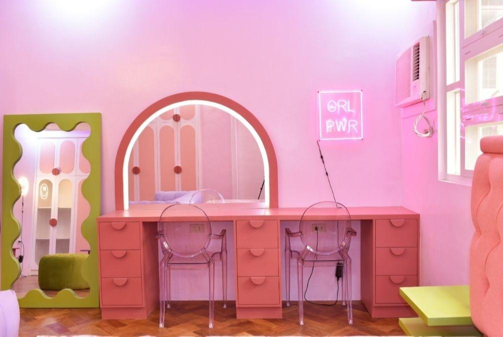 space makeover - neotenic design, vanity area