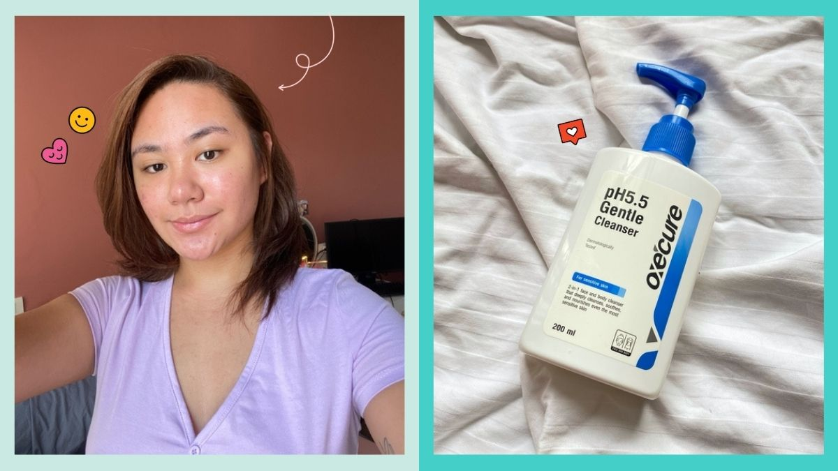 oxecure ph 5.5 cleanser review
