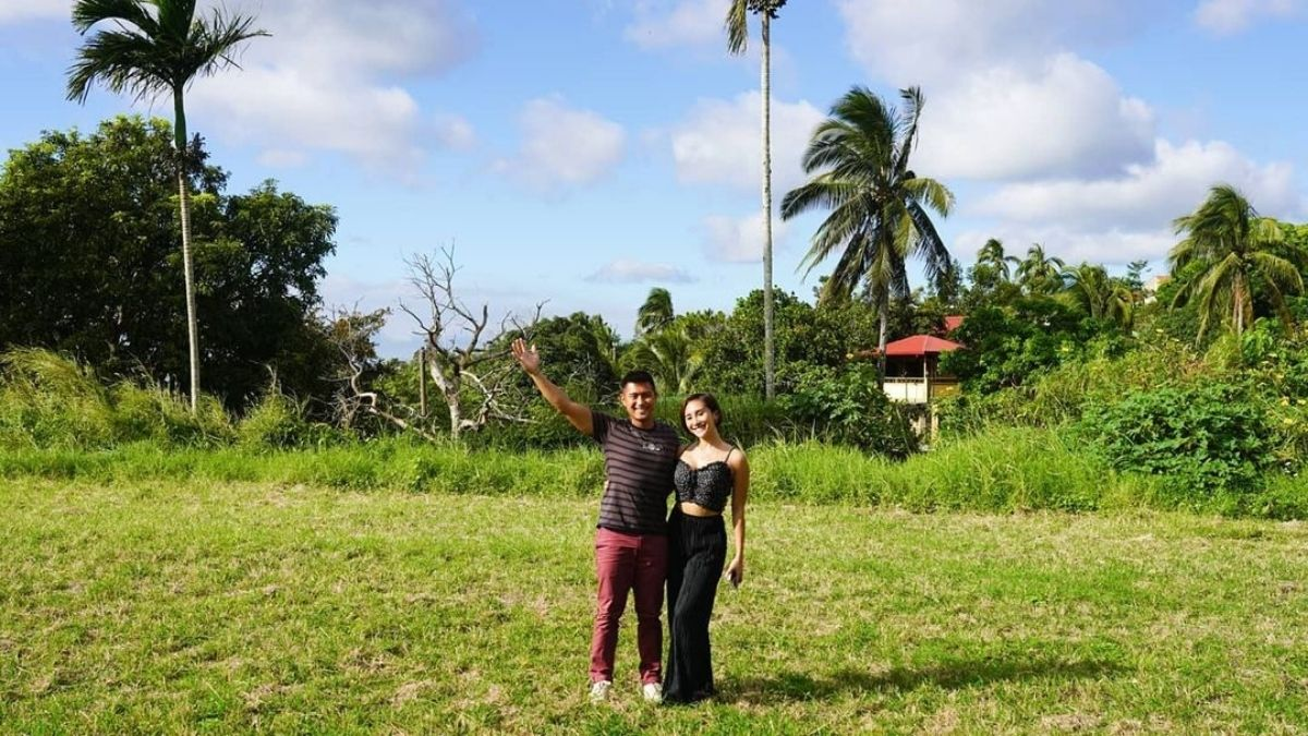 Rocco Nacino posts about land in Tagaytay City