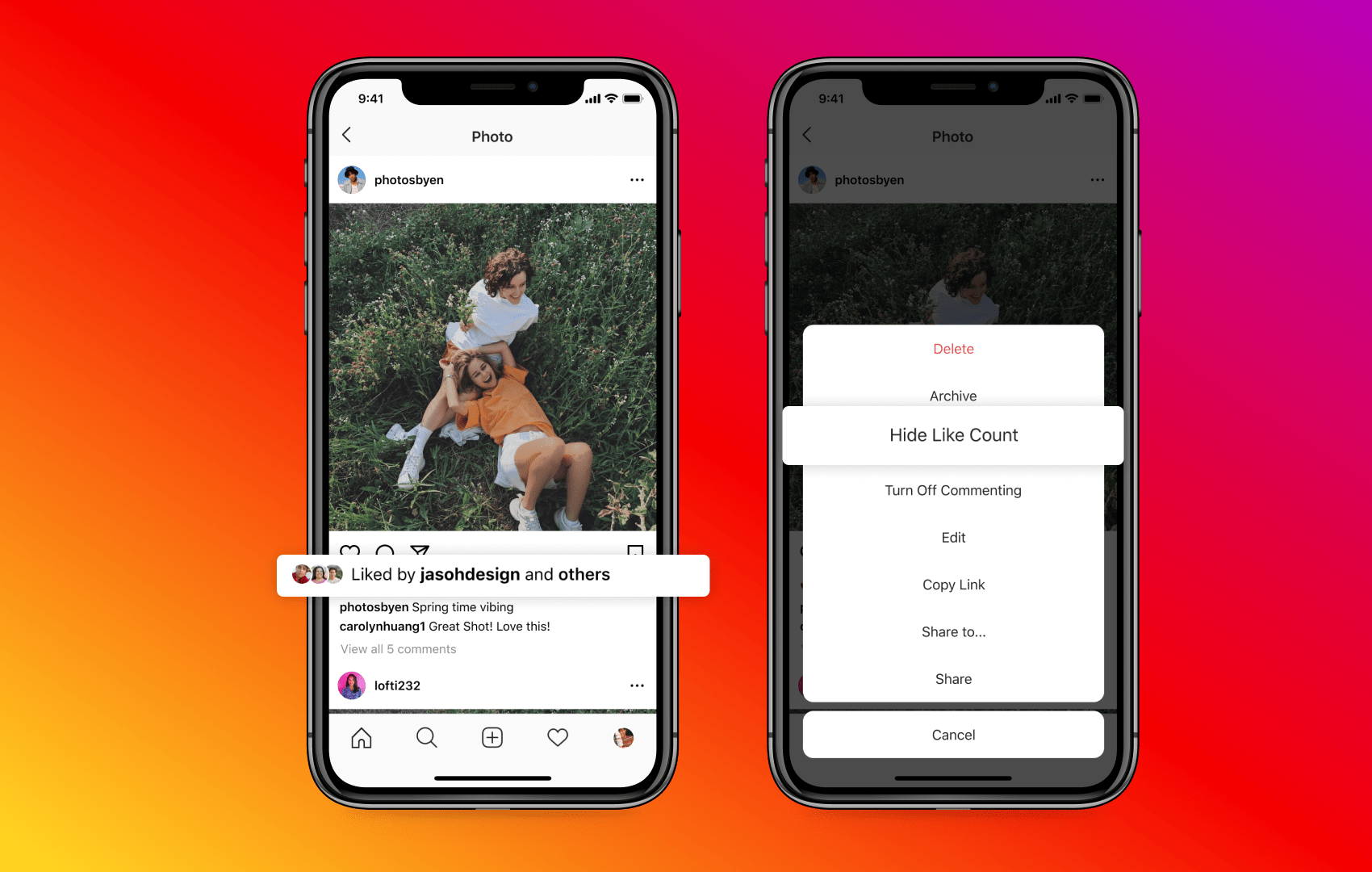 Instagram feature: How to hide like counts on individual posts