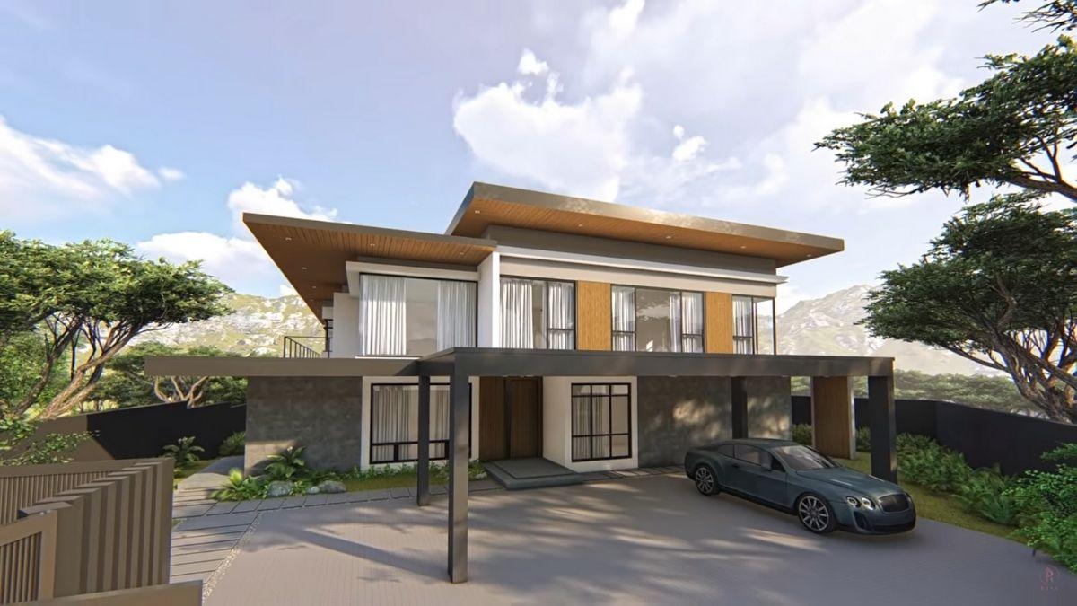 Riva Quenery new home exterior design