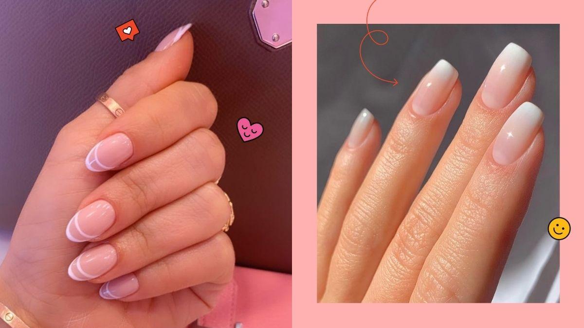 wedding bridal manicure designs