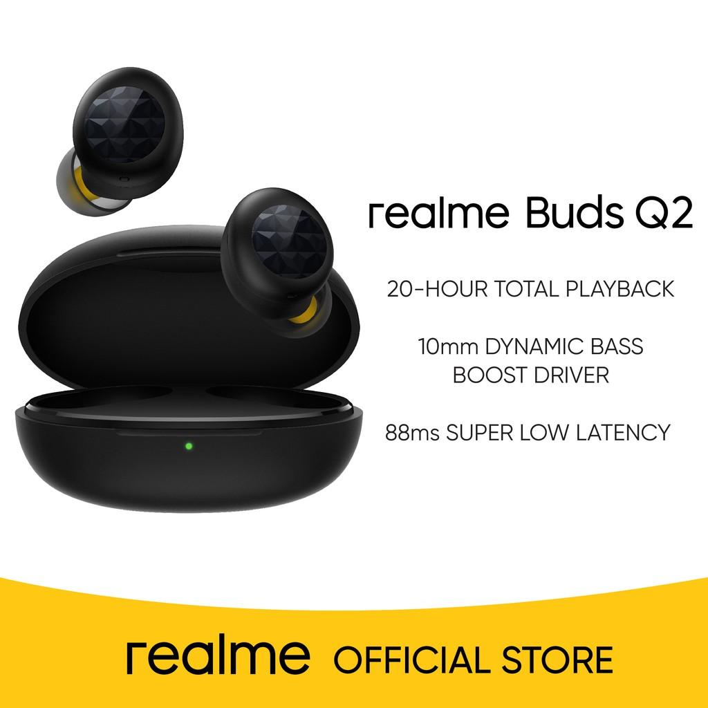 realme Buds Q2 in black