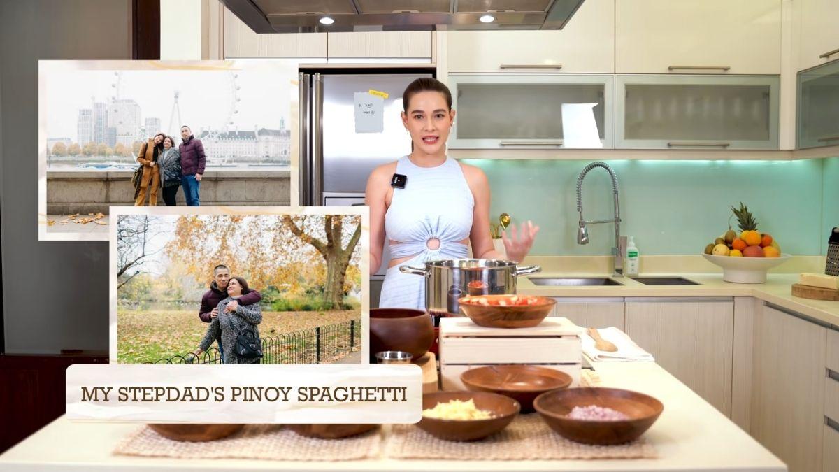 Bea Alonzo cooks Pinoy spaghetti, recipe from her stepdad