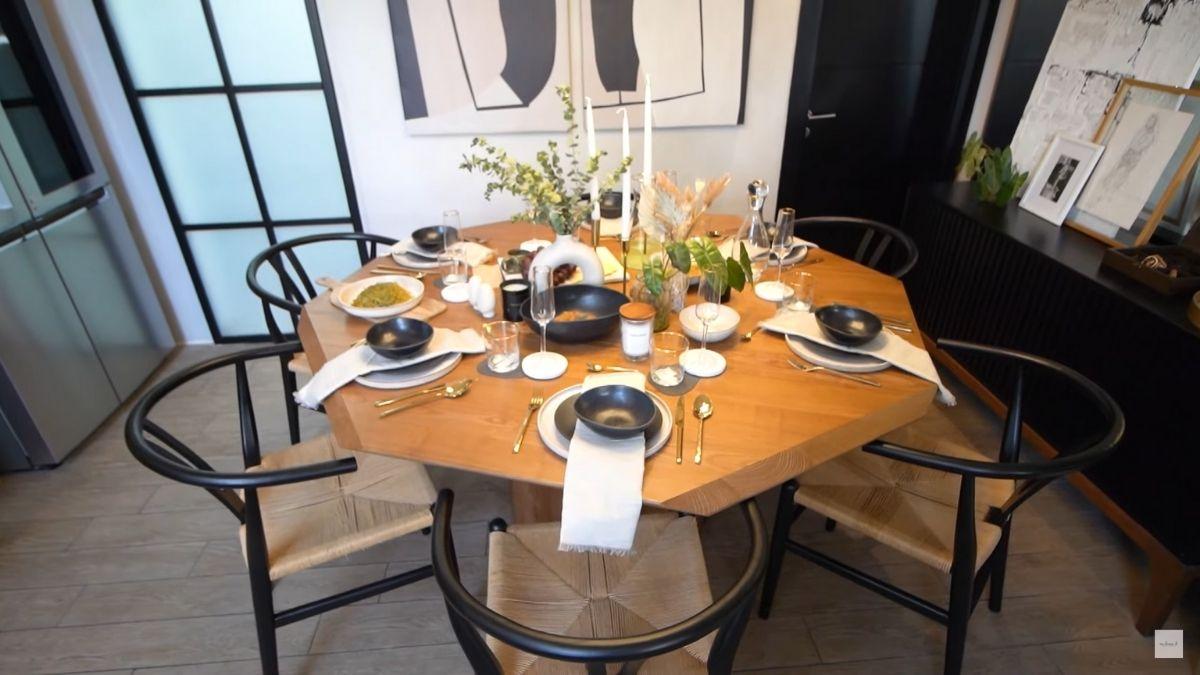 Dani Barretto, Xavi Panlilio new dining table decor 2021