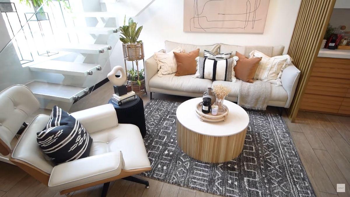 Dani Barretto, Xavi Panlilio new living room decor