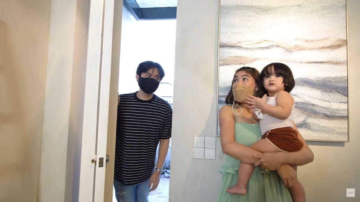 Dani Barretto, Xavi Panlilio home transformation reaction