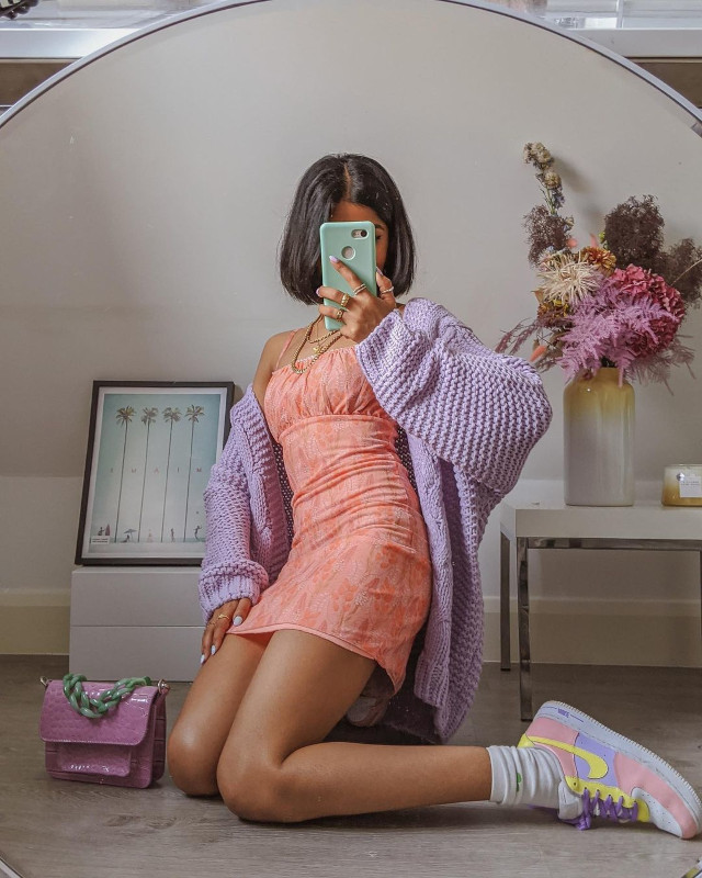 Cardigan outfits: Rubi of Pose and Repeat
