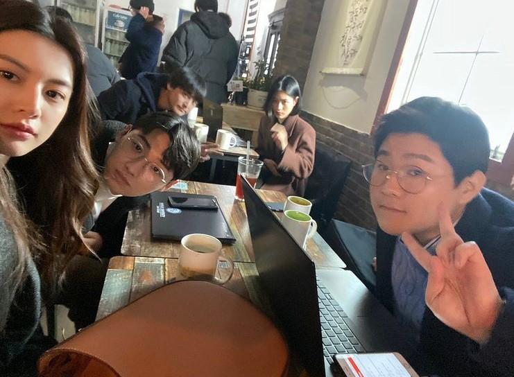Law School cast behind-the-scenes photos on Instagram