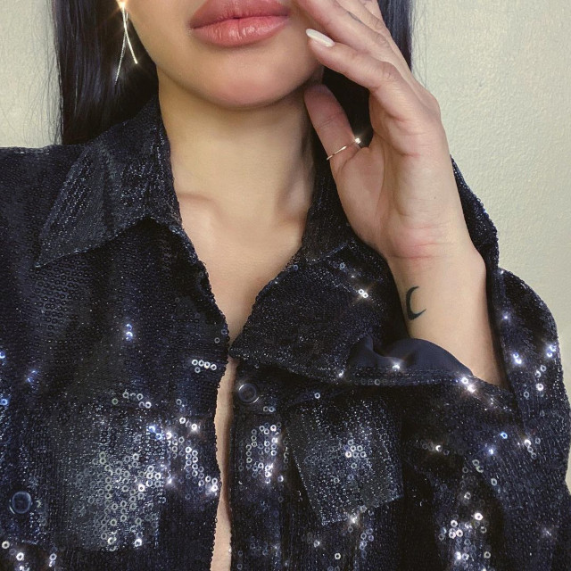 Nadine Lustre Tattoo Collection: Crescent moon