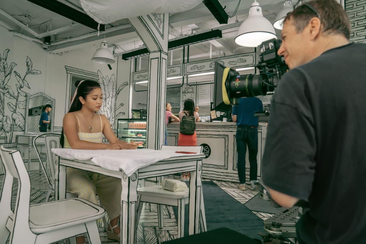 Lana Condor at Café Yeonnam-dong 239-20 filming