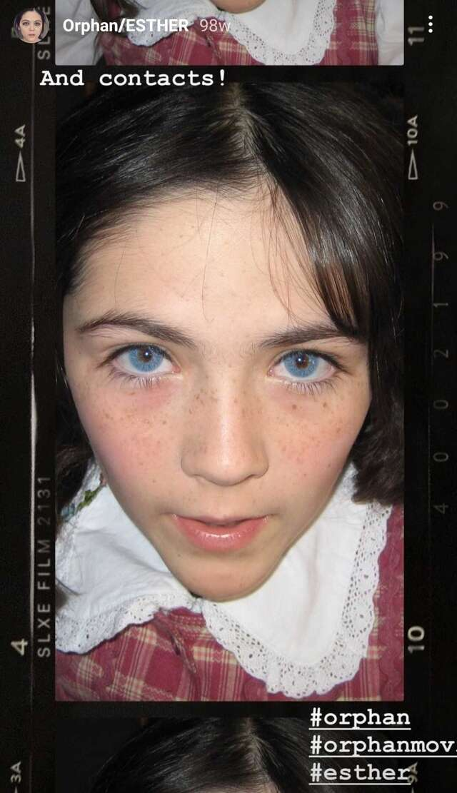 orphan movie child actress