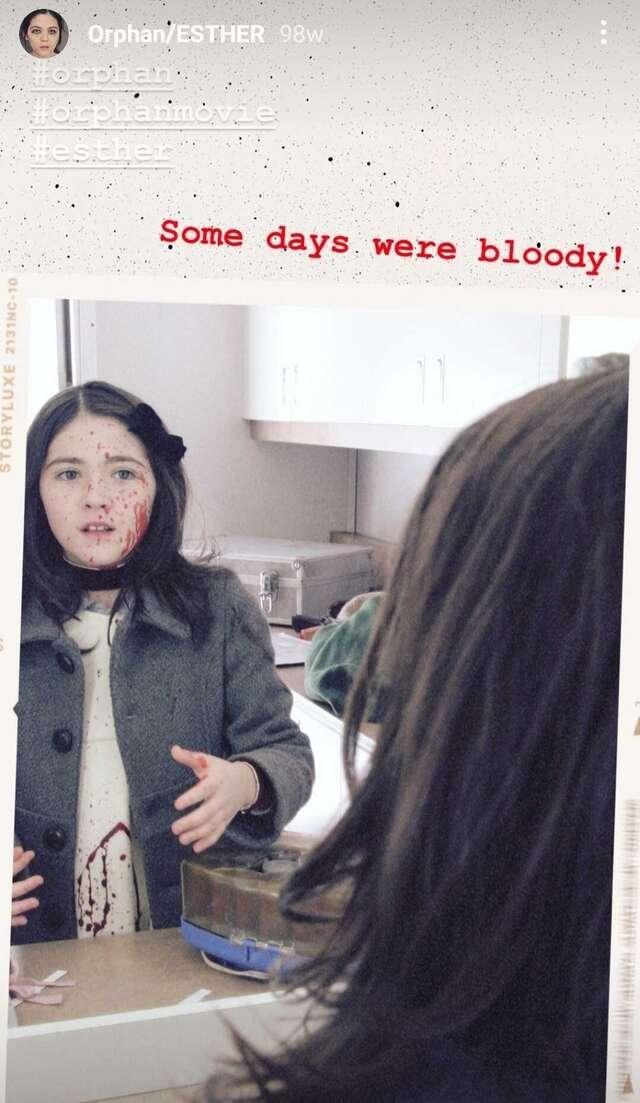 orphan movie blood