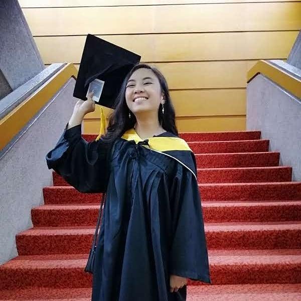 Culinary arts career - Pinay at graduation