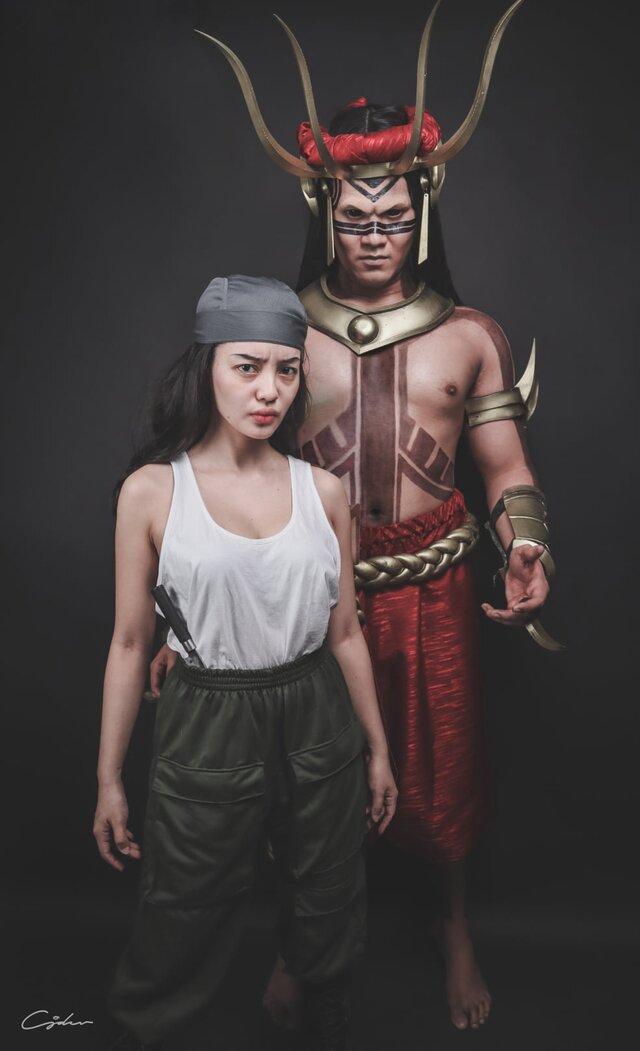 Datu Talagbusao and Ramona cosplay