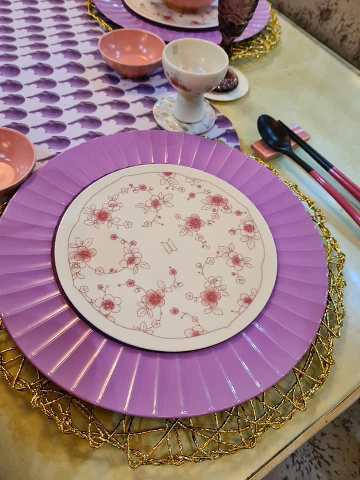 BTS and Kwanjuyo collab - plates