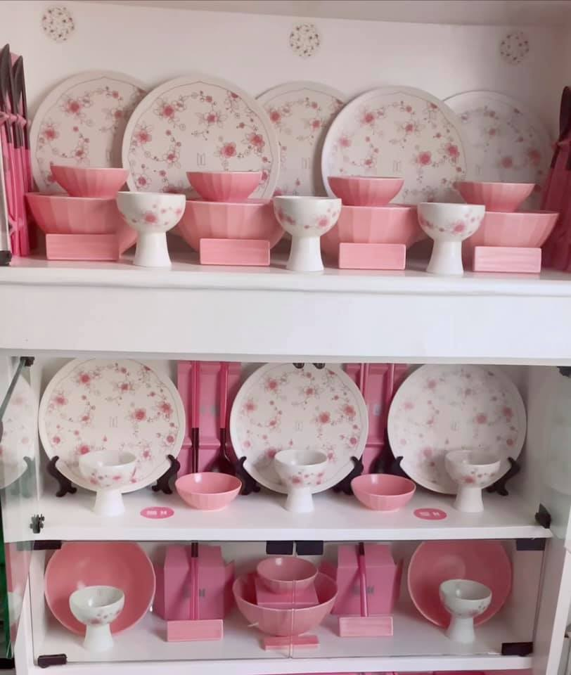 BTS and Kwanjuyo collab - bowls, cups, and plates