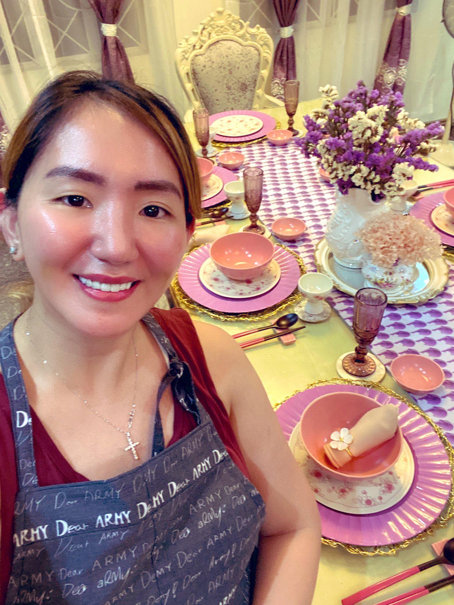 Pinay with BTS and Kwanjuyo collab dinnerware set