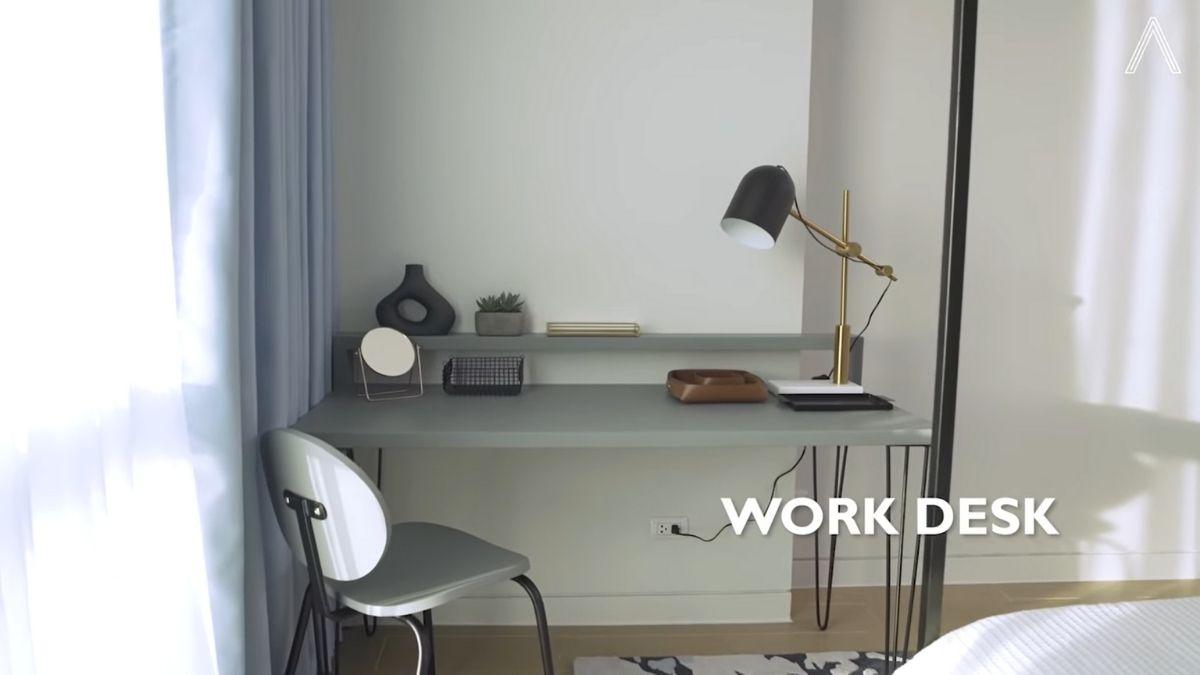 Rhian Ramos bedroom makeover: work desk