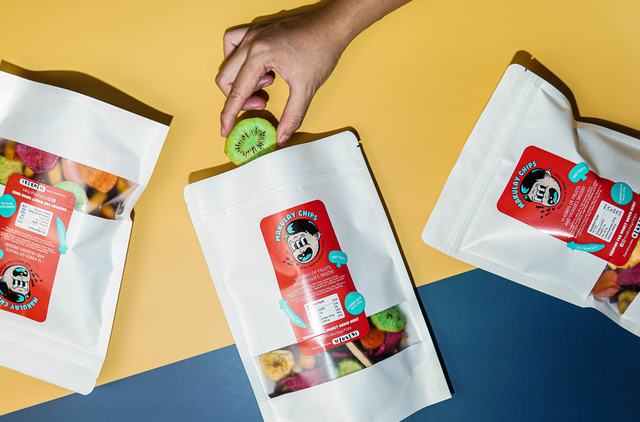 Makulay Chips' fruit and veggie crisps, all-natural