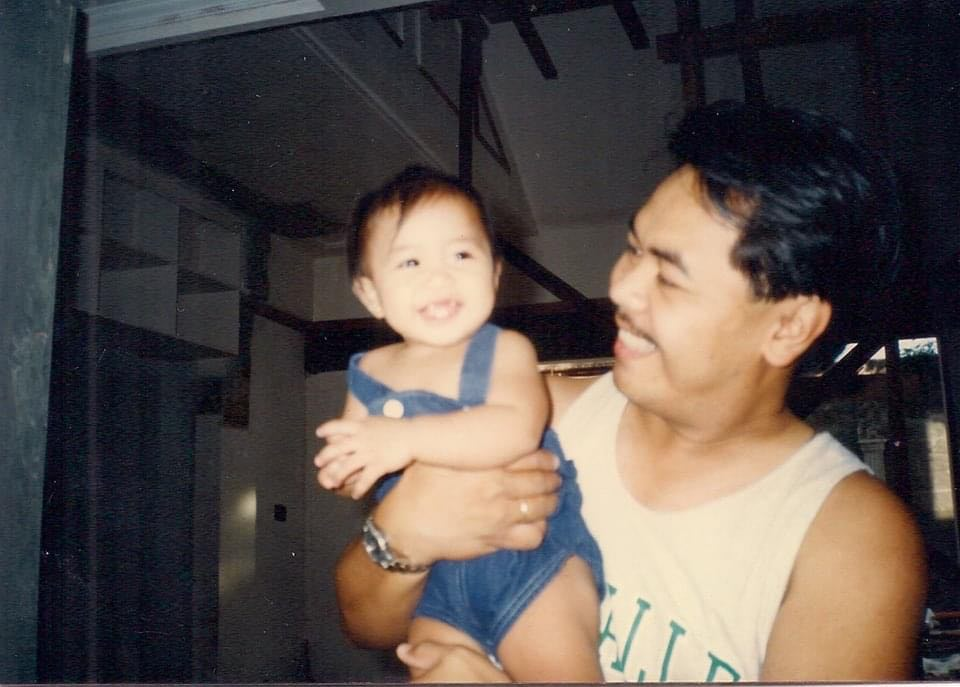 baby pic with dad