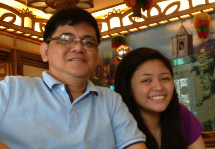 Pinay with dad