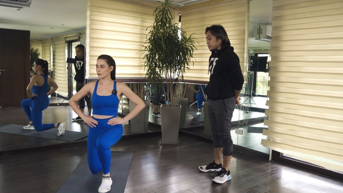 Bea Alonzo fitness journey 2021: lunges