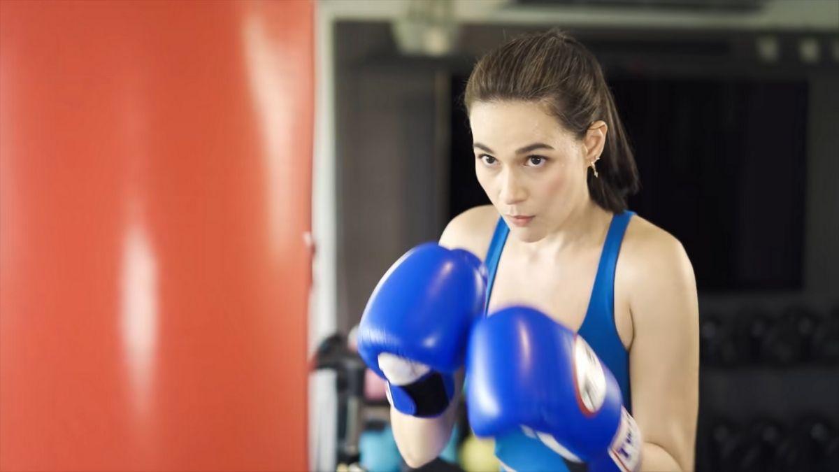 Bea Alonzo fitness journey 2021: boxing