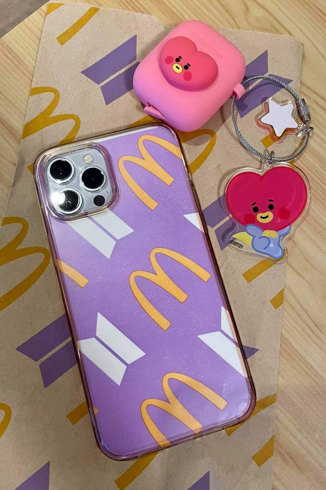 How to create DIY merch using The BTS Meal