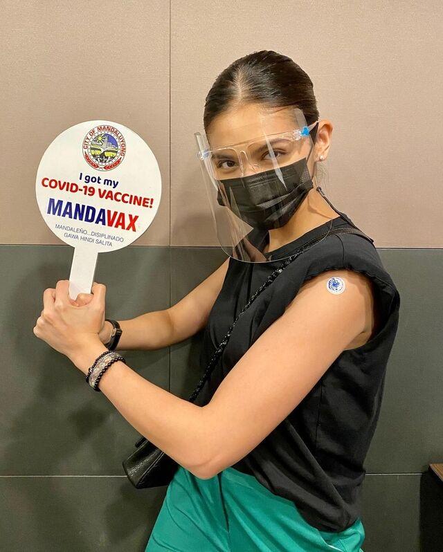 maine mendoza vaccine mandaluyong