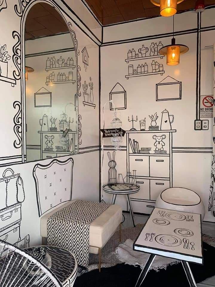 Panahon Ko 'To Cafe, local cafe, 2D redesign