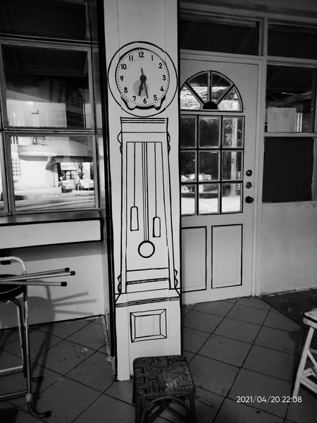 Panahon Ko 'To Cafe clock drawing