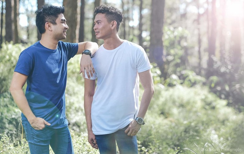 LGBTQIA+ couples love stories 2021: ICE AND BRIAN