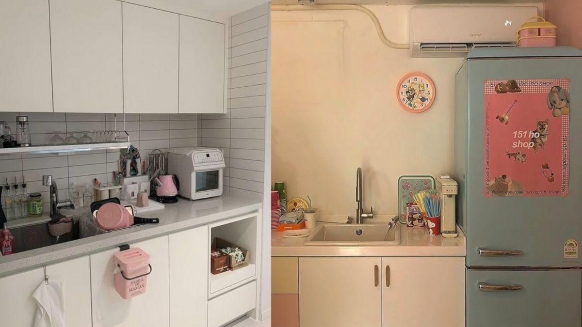 Ashley Garcia 2021 condo makeover: kitchen peg