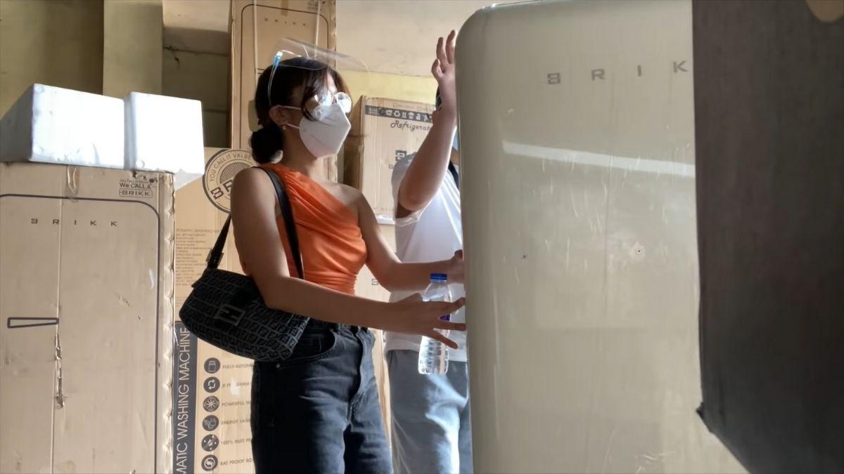 Ashley Garcia 2021 condo makeover: new refrigerator