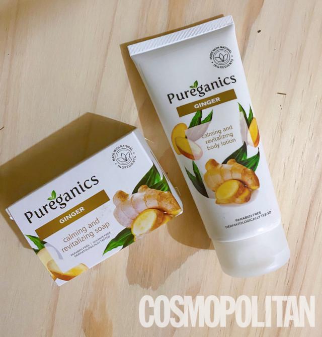 Pureganics Ginger Soap and Body Lotion