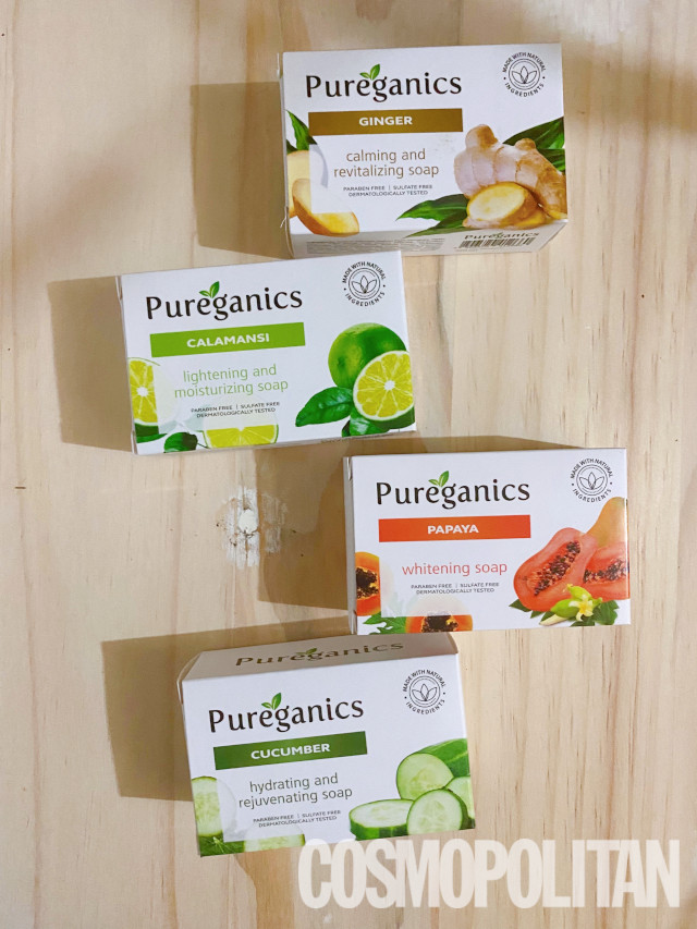 Pureganics soaps