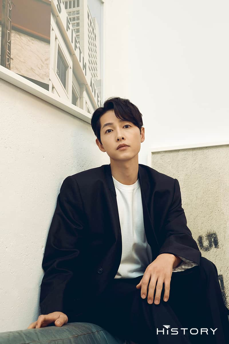 Cast members of Song Joong Ki's new movie, 'Bogota'