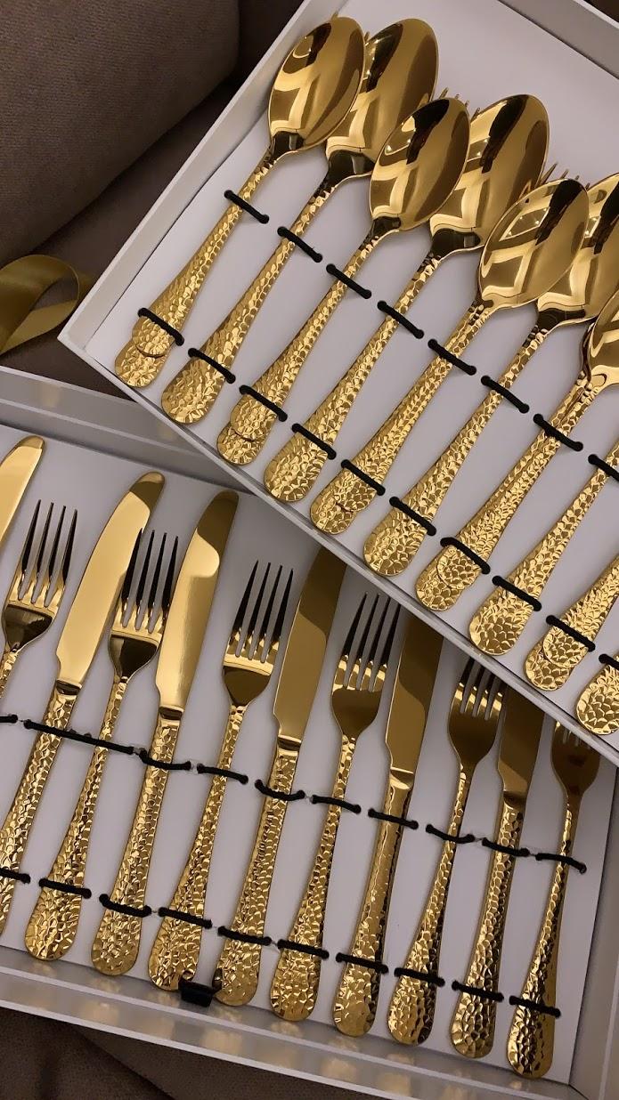 boho-inspired home makeover: cutlery