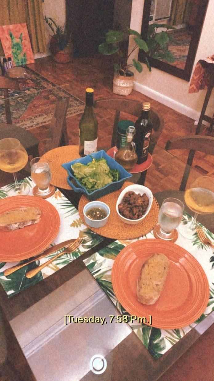boho-inspired home makeover: table setup