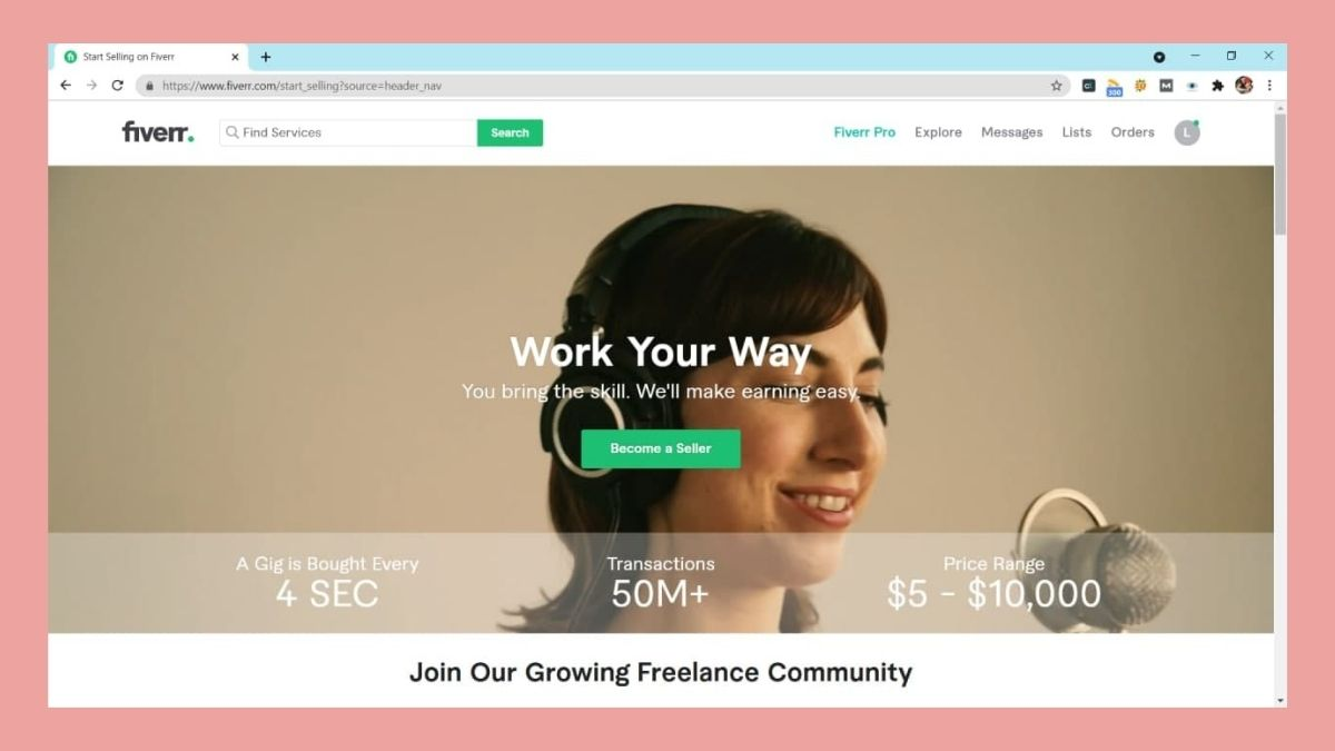 freelance jobs in the philippines: Fiverr