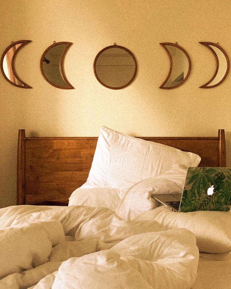 boho-inspired home makeover: bedroom