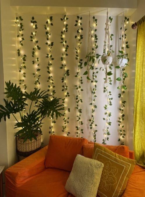 boho-inspired home makeover: vines