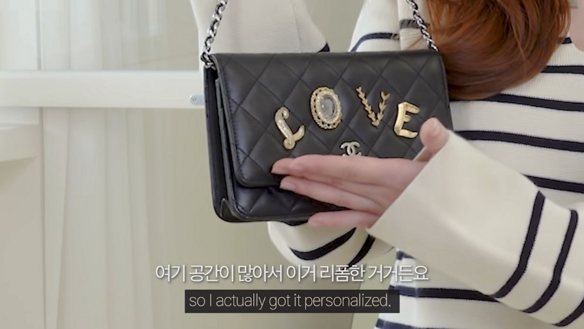 Jessica Jung's chanel bag collection