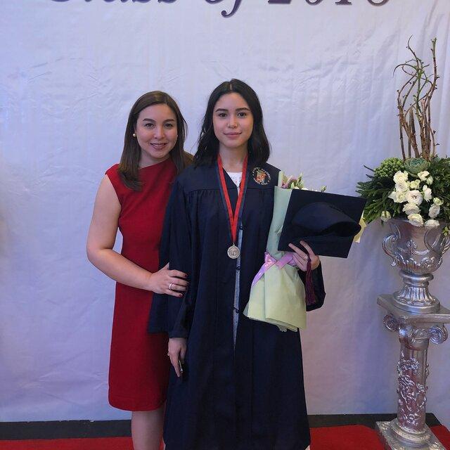 claudia barretto graduation