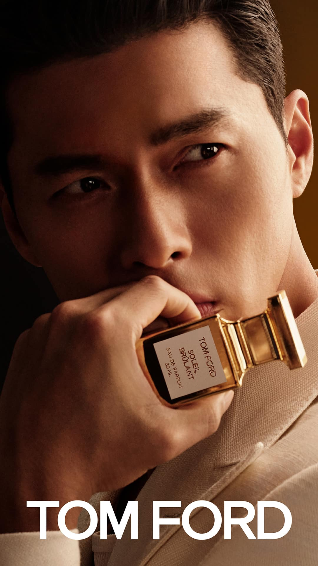 Hyun Bin is the newest endorser of Tom Ford Fragrance